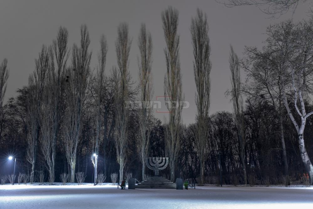 אתר ההנצחה 'באבי יאר' בקייב (צילום: Shutterstock)