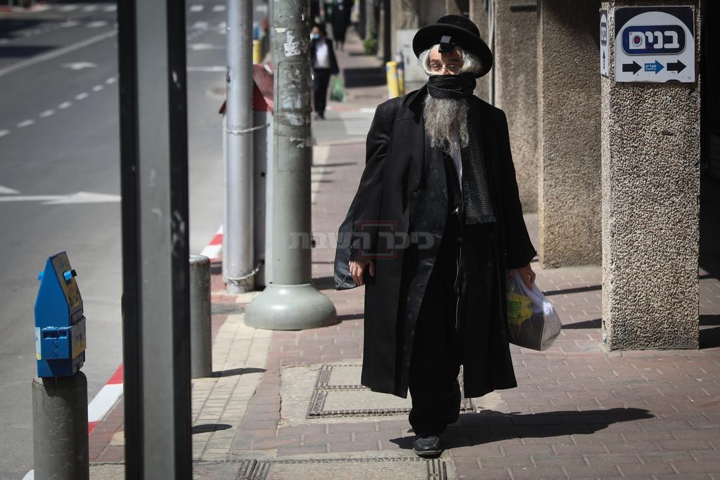 בני ברק, ביום שישי (צילום: חיים גולדברג, כיכר השבת)
