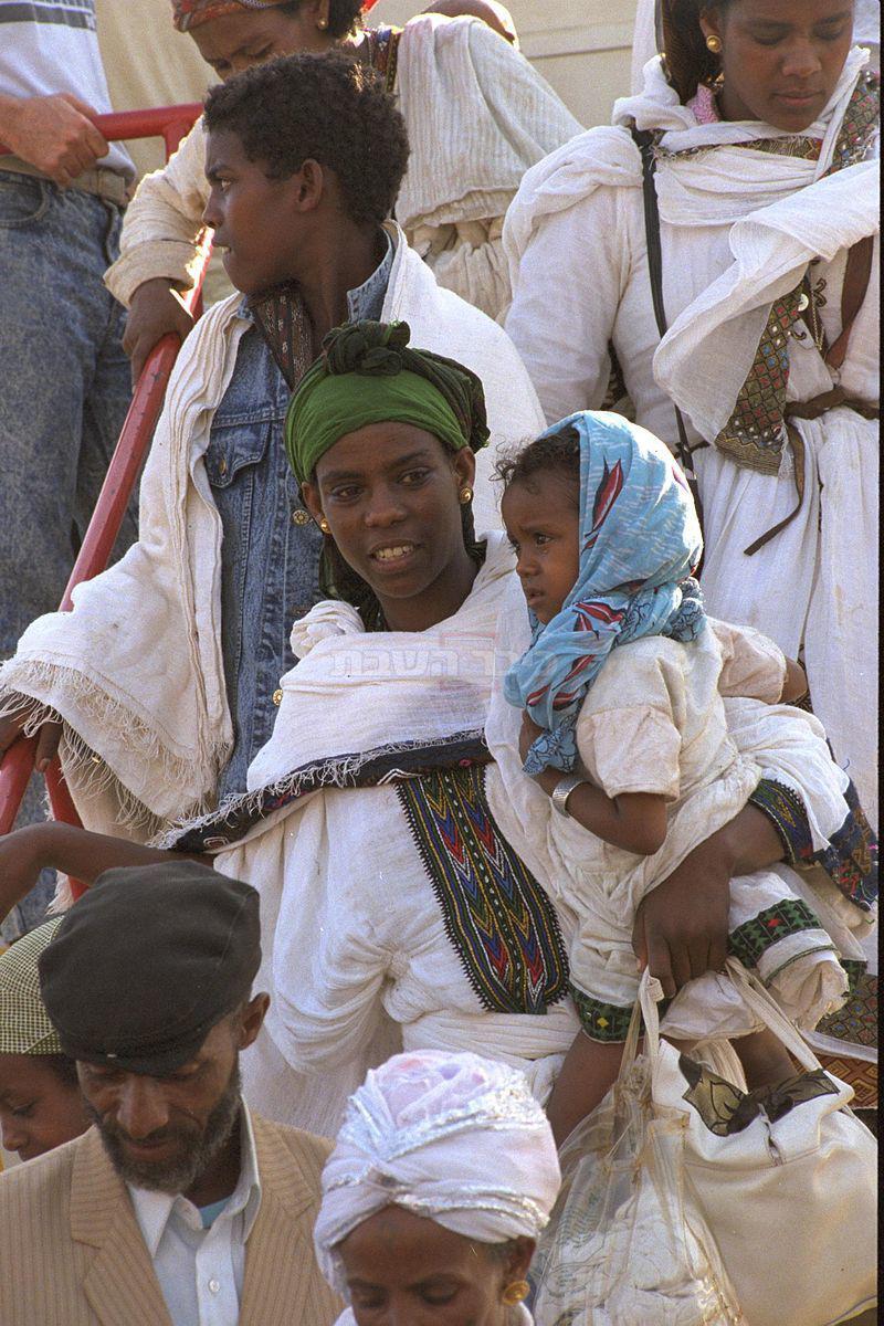 עליית יהודי אתיופיה ב-1991 באדיבות לע''ם