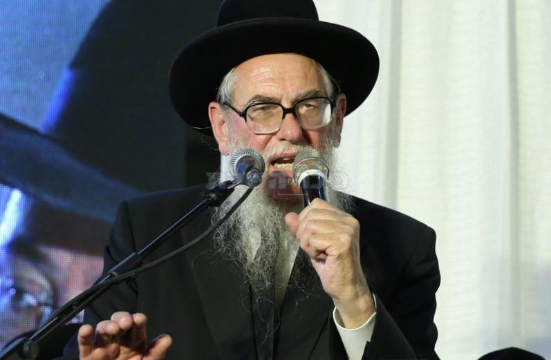 הרב שווארץ, כותב המכתב (צילום: יעקב כהן)