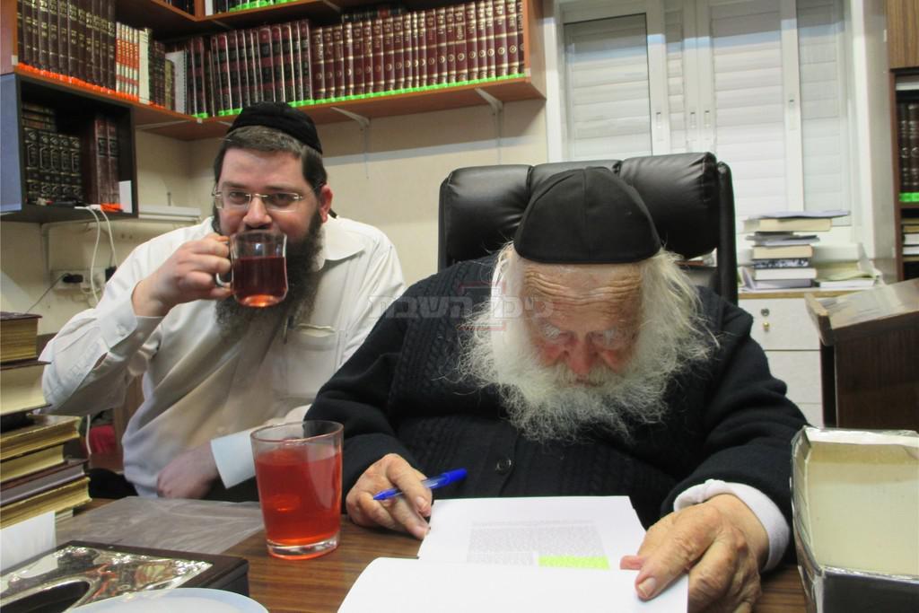 הגר''ח עם הרב אורי טיגר