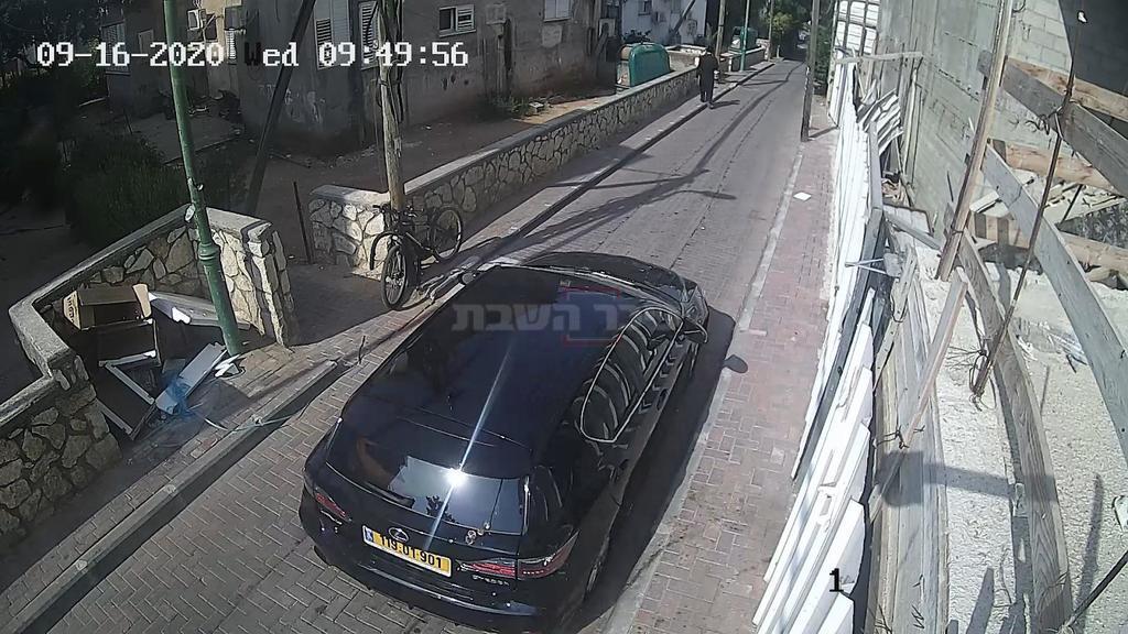 הרכב של השודדים, בזירה (צילום: השומרים)