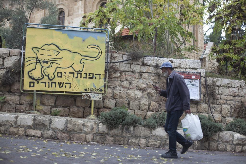 הכעס שהיה ל'פנתרים', מסתבר, אקטואלי מתמיד (צילום: Lior Mizrahi/Flash90)