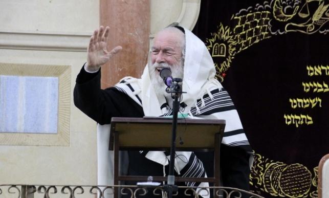הגאון רבי יצחק זילברשטיין (צילום: בעריש פילמר)