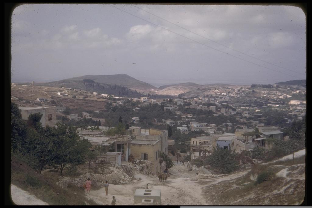 העיר צפת, 1950 (צילום: KATCOFF SEYMOUR, לע''מ)