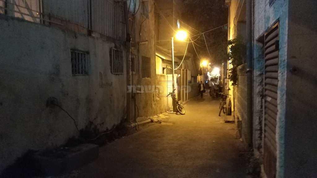 הדרך לביתו של הרב אלפרט (צילום: הרב ישראל שפר)
