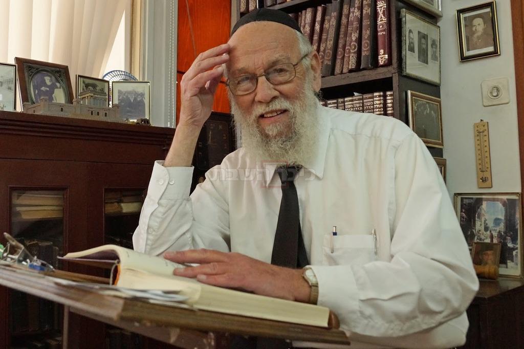 ראש הישיבה הרב אברהם גורביץ (באדיבות המצלם)