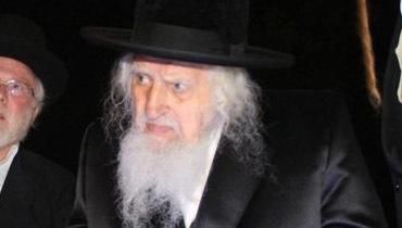 גאב''ד אונגוואר זצ''ל (צילום: יהודה פרקוביץ')