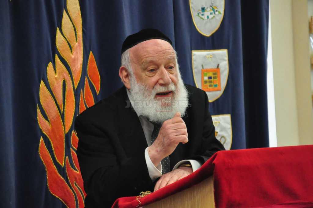הרב רבינוביץ זצ''ל