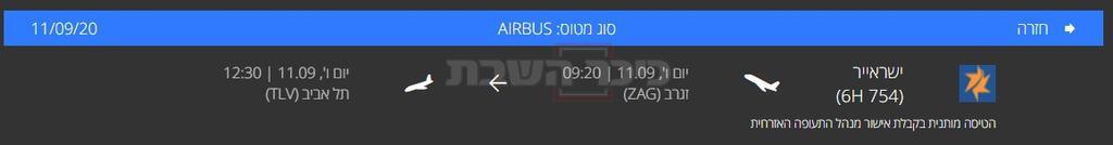 הטיסה המקורית