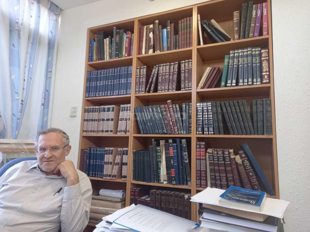 הרב משה ליכטנשטיין (צילום: מנחם צציק)