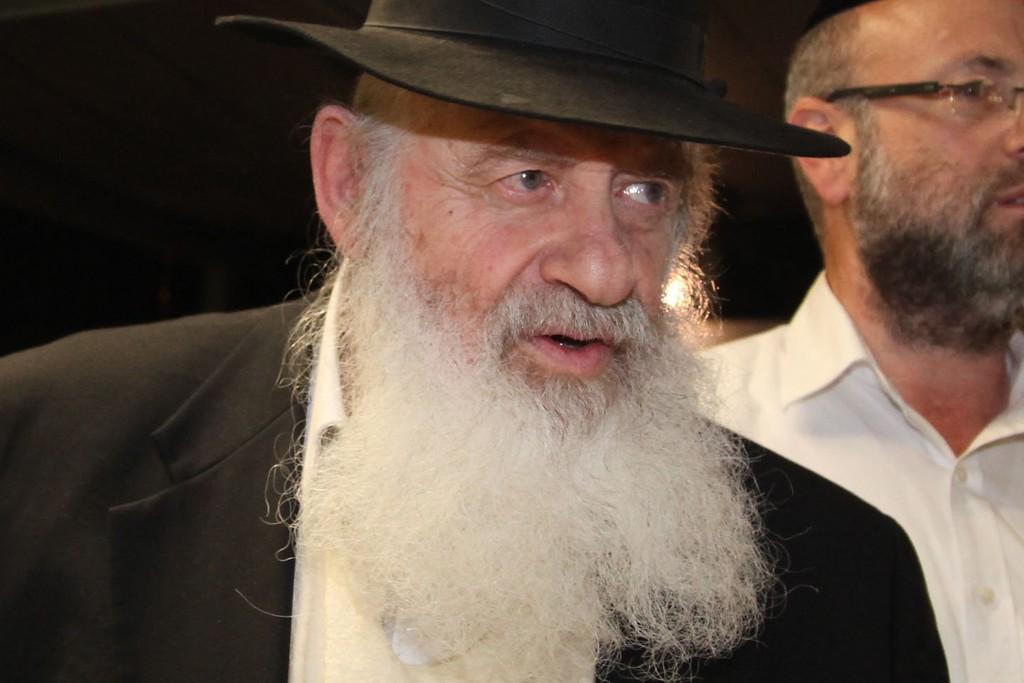 הרב אורי זוהר (צילום: Gideon Markowicz/Flash90)