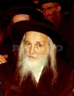 הרבי 'ויואל משה' מסאטמר זיע''א (צילם: מתוך ויקיפדיה)