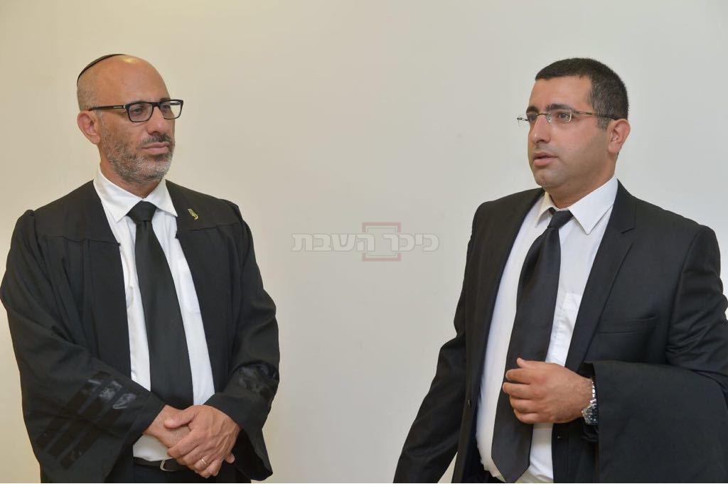 עורכי הדין טל גבאי ויהודה פריד