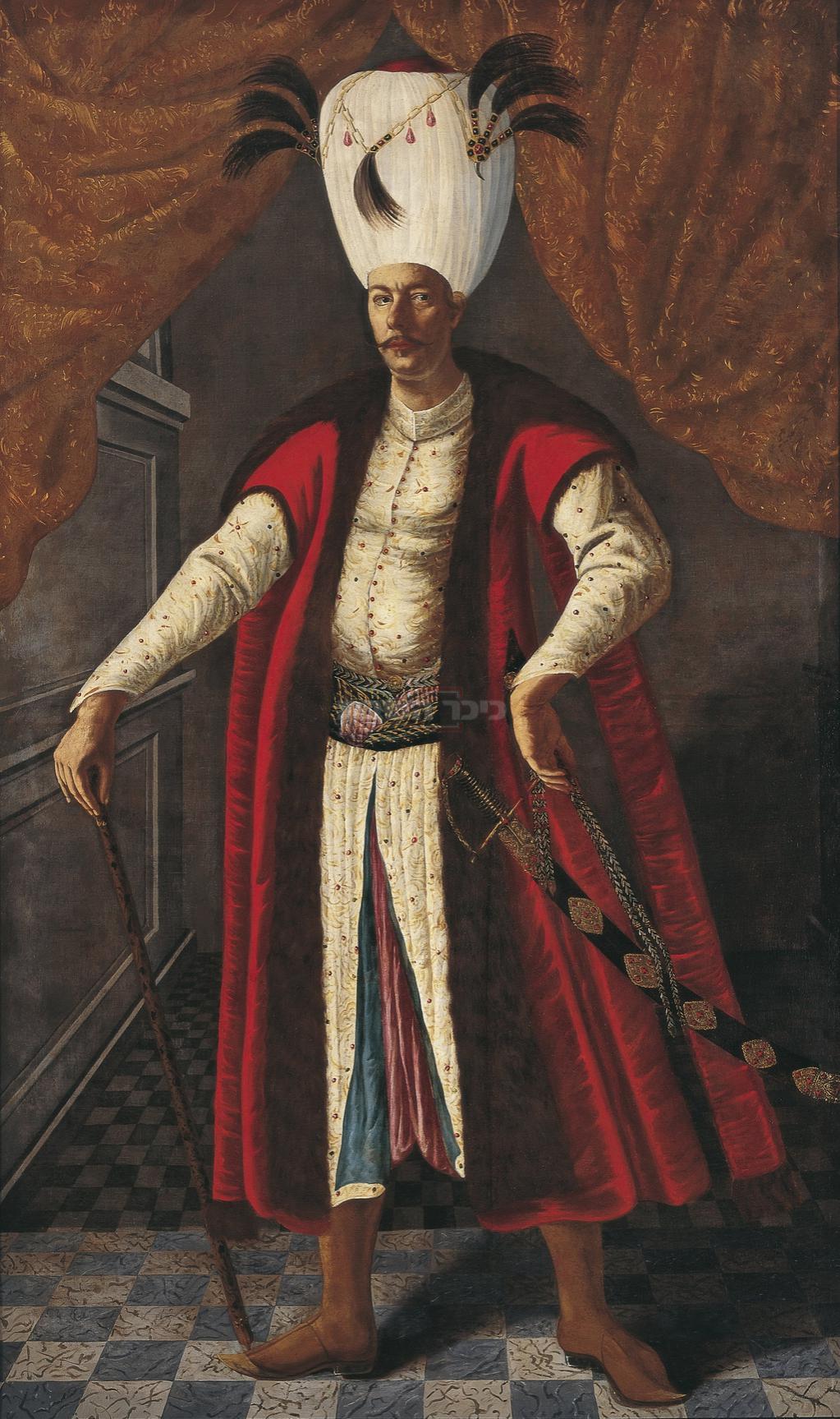 סולטאן האימפריה העות'מאנית מהמט הרביעי שבארמונו התרחש הפלא שמשומד לא הצליח לתקועה 'תרועה'