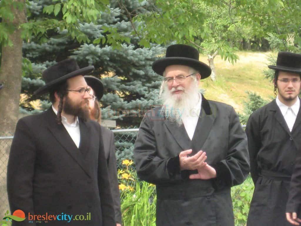 עם תלמידו הרב יואל ראטה שליט''א