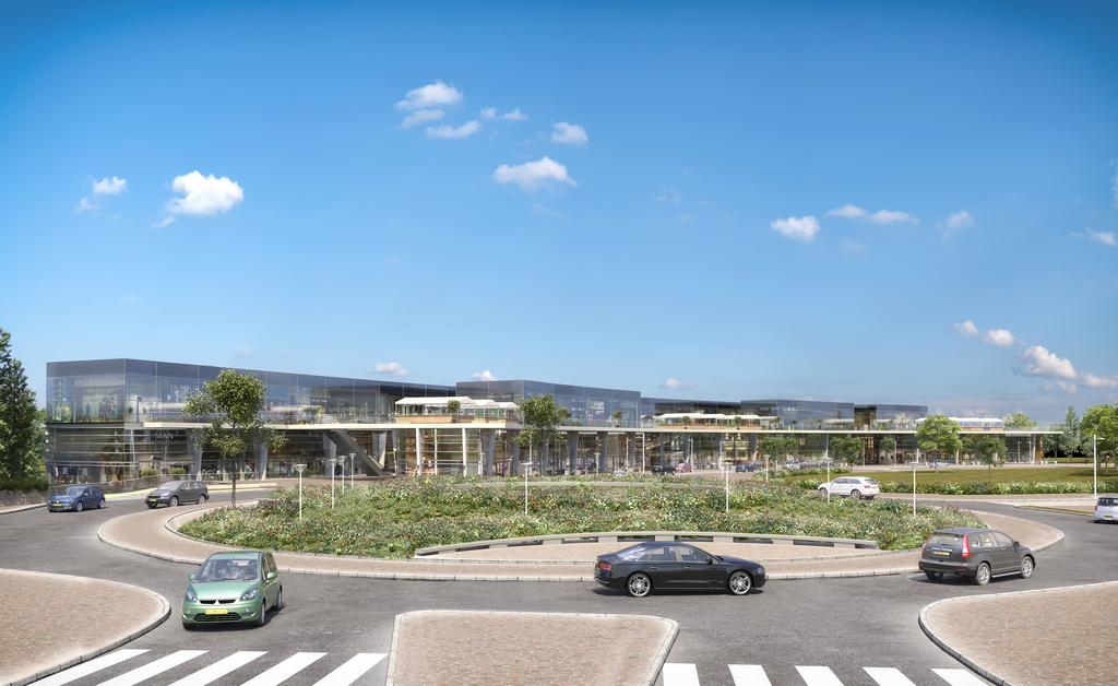 'השדרה' ממוקמת בלוקיישן המושלם במרכז העסקים הראשי (מע''ר) של רמות בית שמש (צילום: יח''צ)