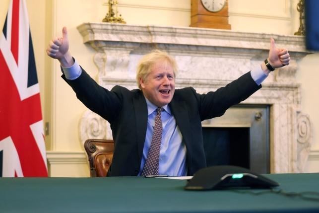 ראש ממשלת בריטניה - בוריס ג'ונסון (עמוד הפייסבוק הרשמי)