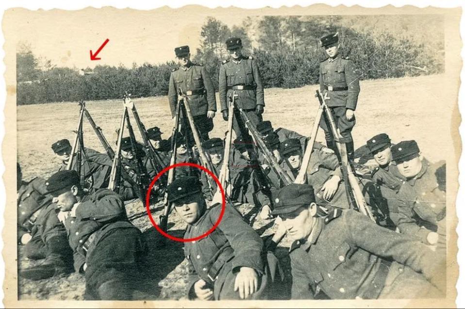 התמונה מפלילה: דמיאניוק, צמוד למחנה סוביבור (צילום: משטרת גרמניה)