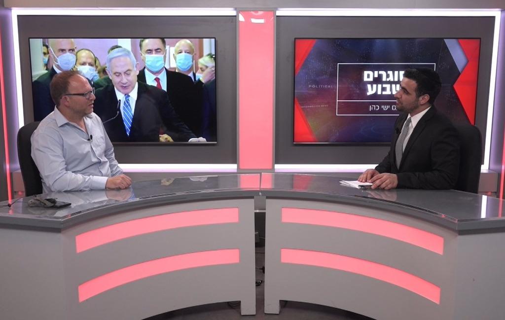 עיתונאי אביעד גליקמן בריאיון לישי כהן