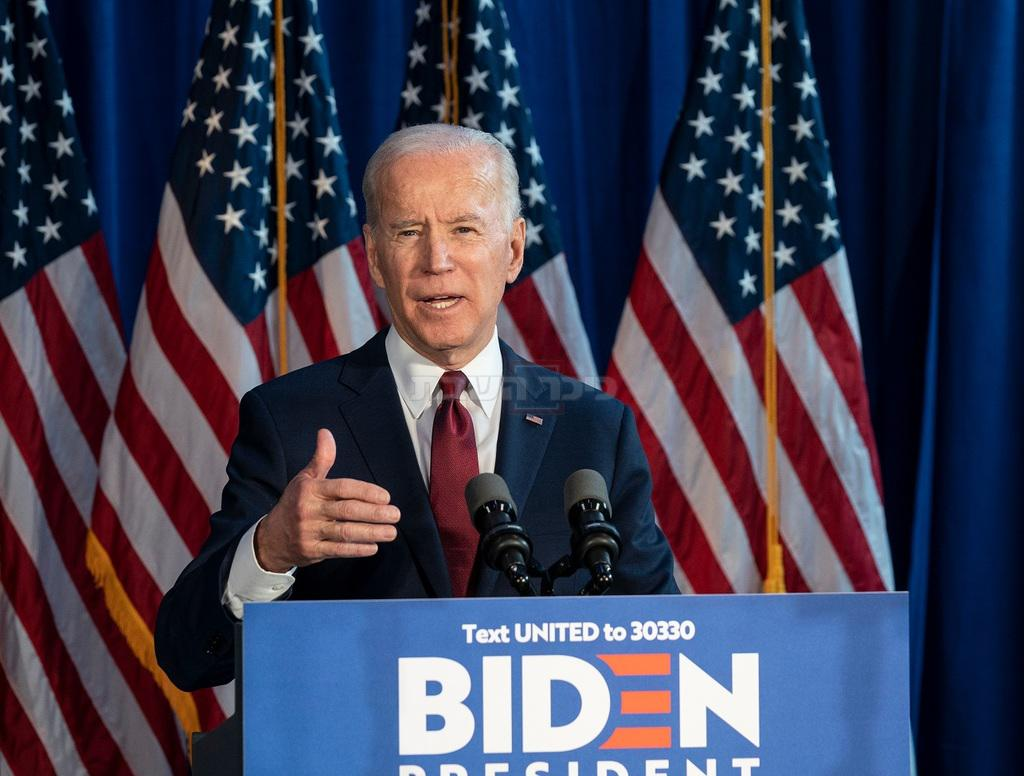 ביידן הדמוקרט, הנשיא הנבחר (צילום: shutterstock)