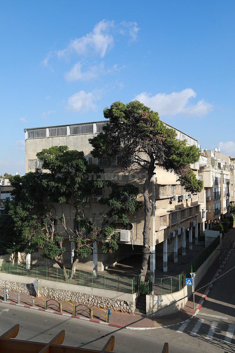 בנין תשב''ר שהתווסף מעל הבית המקורי