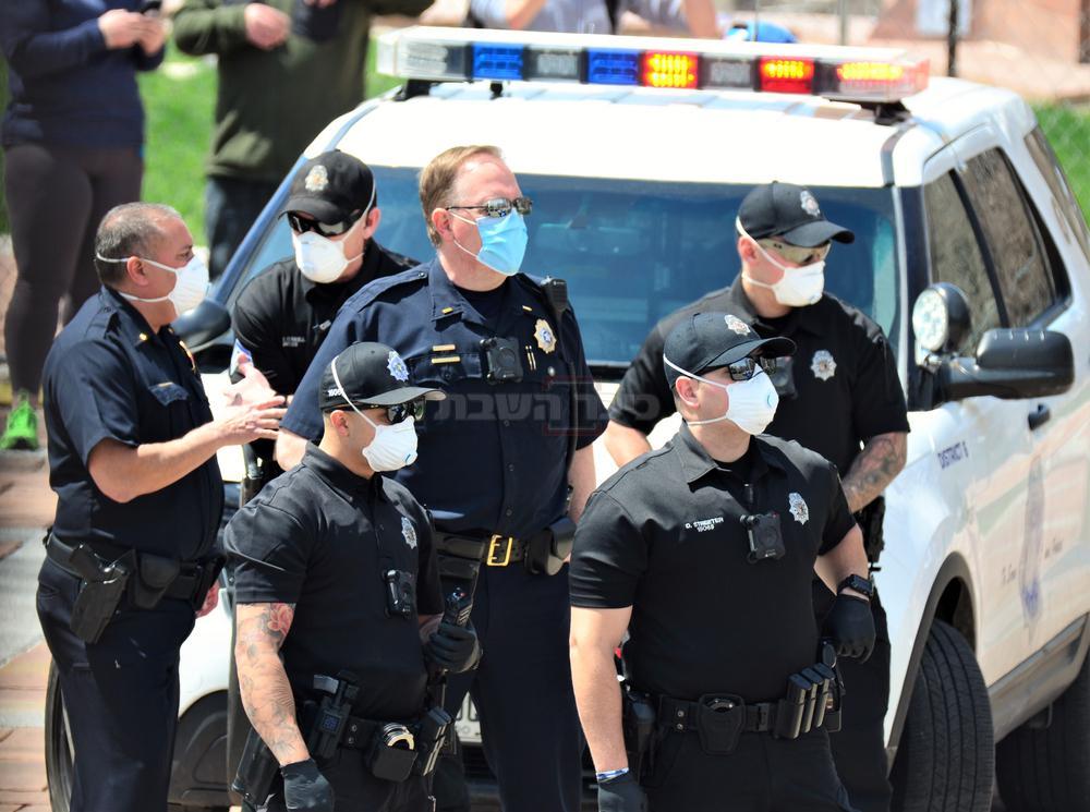 שוטרי משטרת דנוור (צילום: Shutterstock)