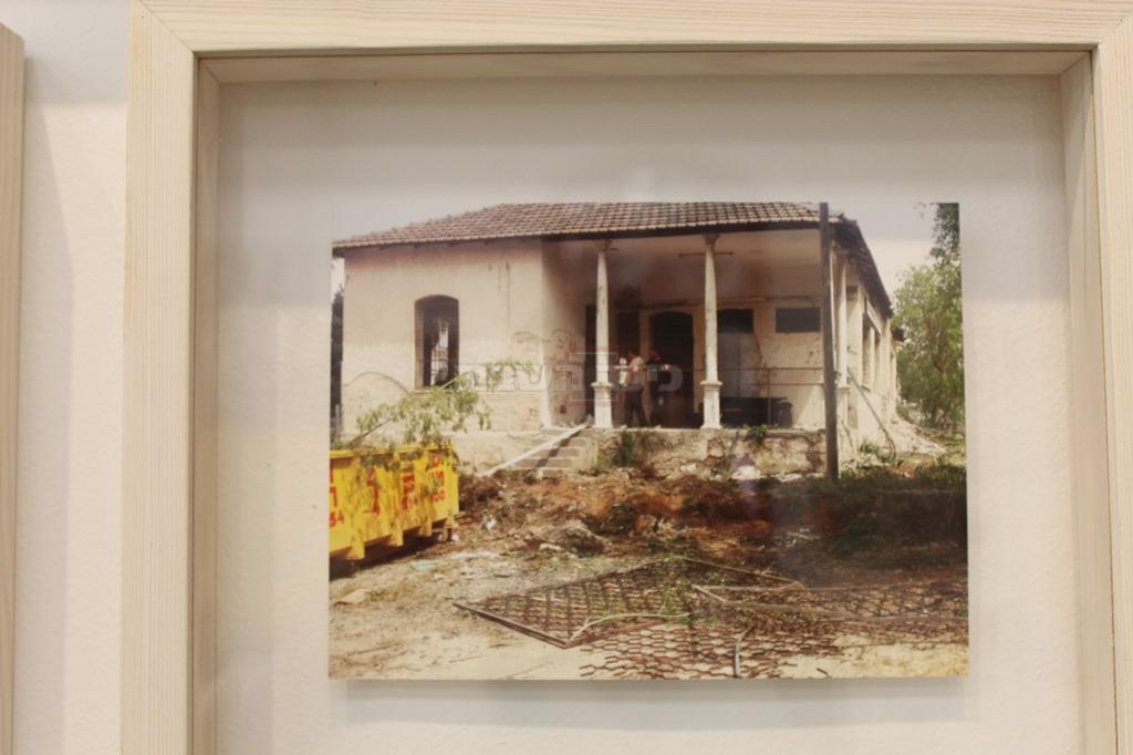 כך היה נראה בית הספר לפני השחזור בשנים האחרונות (צילום: ישראל שפירא)