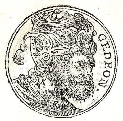 דמותו המיתולוגית של גדעון (יוצר: Guillaume Rouille. מתוך wikimedia)