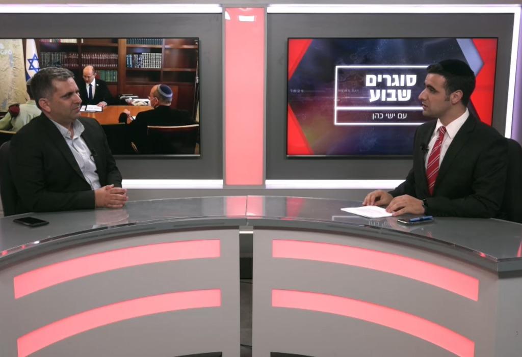 ח''כ אופיר סופר בריאיון לישי כהן