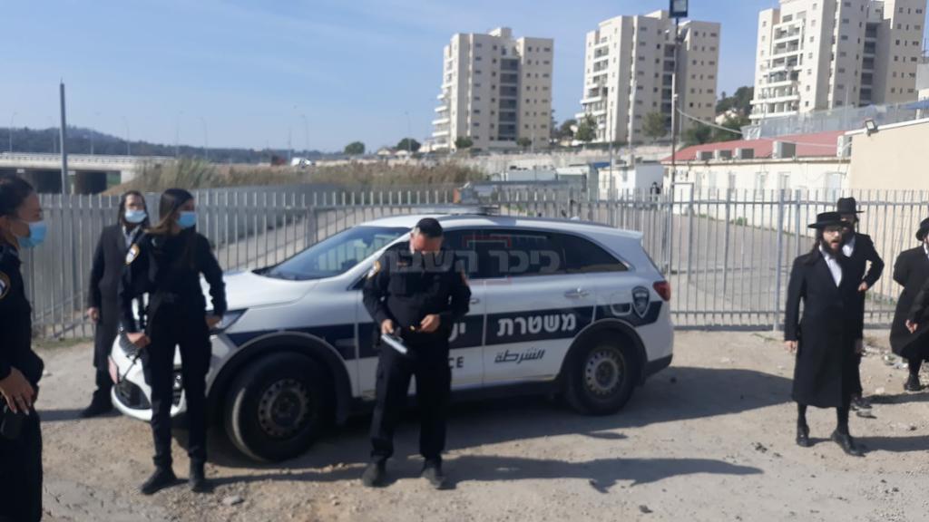 השוטר היורה (באדיבות המצלם)