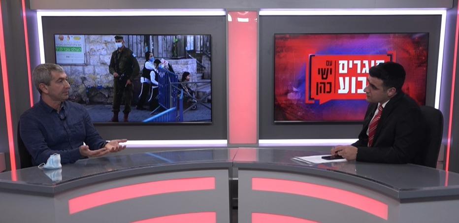 רוני נומה בריאיון לישי כהן באולפן 'כיכר'