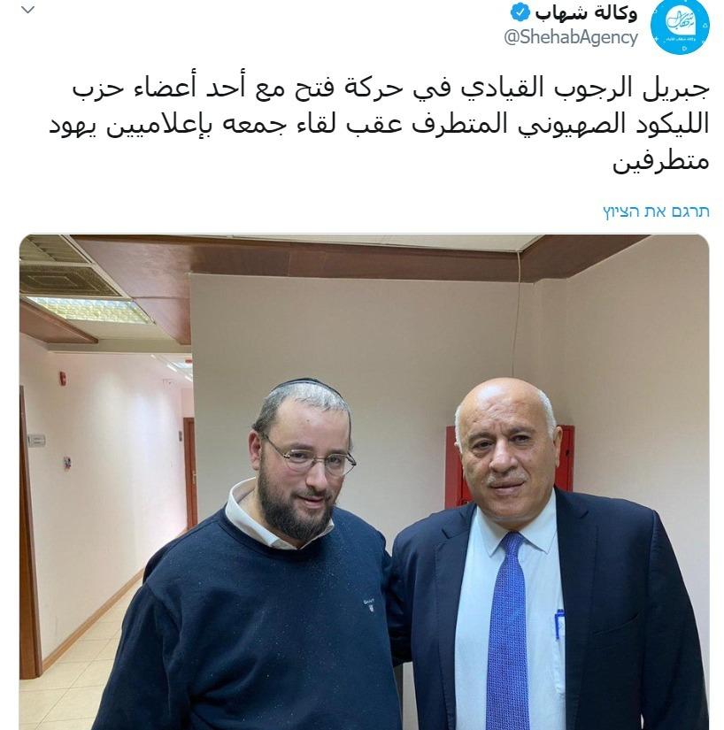 (מתוך הערוץ הפלסטיני הפופולרי شهاب)