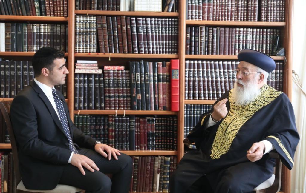 הראשון לציון בשיחה עם ישי כהן