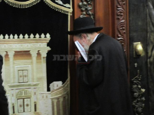 הרב בראנד בכותל  (צילום: באדיבות מכון בריתי יצחק)