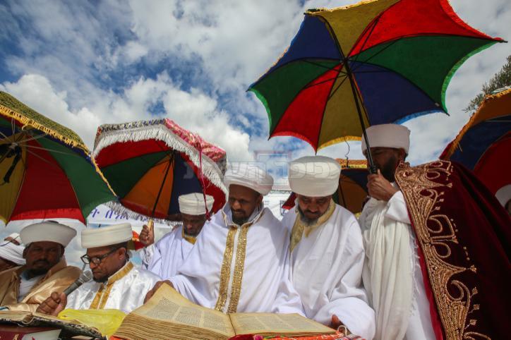 בחג הסיגד בארמון הנציב צילום: פלאש 90