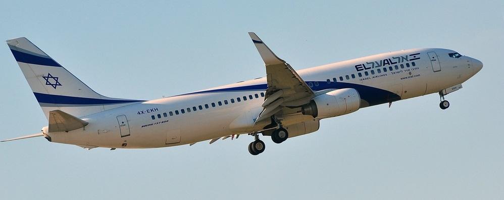מטוס 'אל על' (צילום: שאטרסטוק)