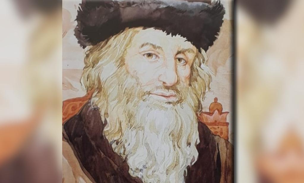 החתם סופר זיע''א (צילום: יצחק אלמקייס - אמנות יהודית)