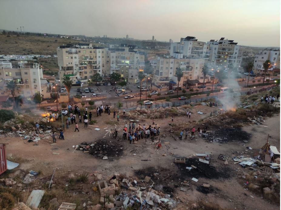 ילדים ושריפות ברחוב אביי ורבא (בן חנניה)
