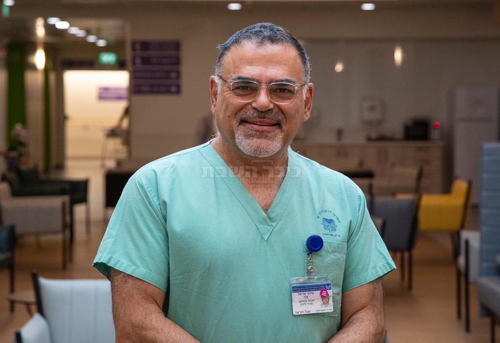 פרופ' אריאל מני מאיכילוב (צילום: ליאור צור, דוברות בית החולים)