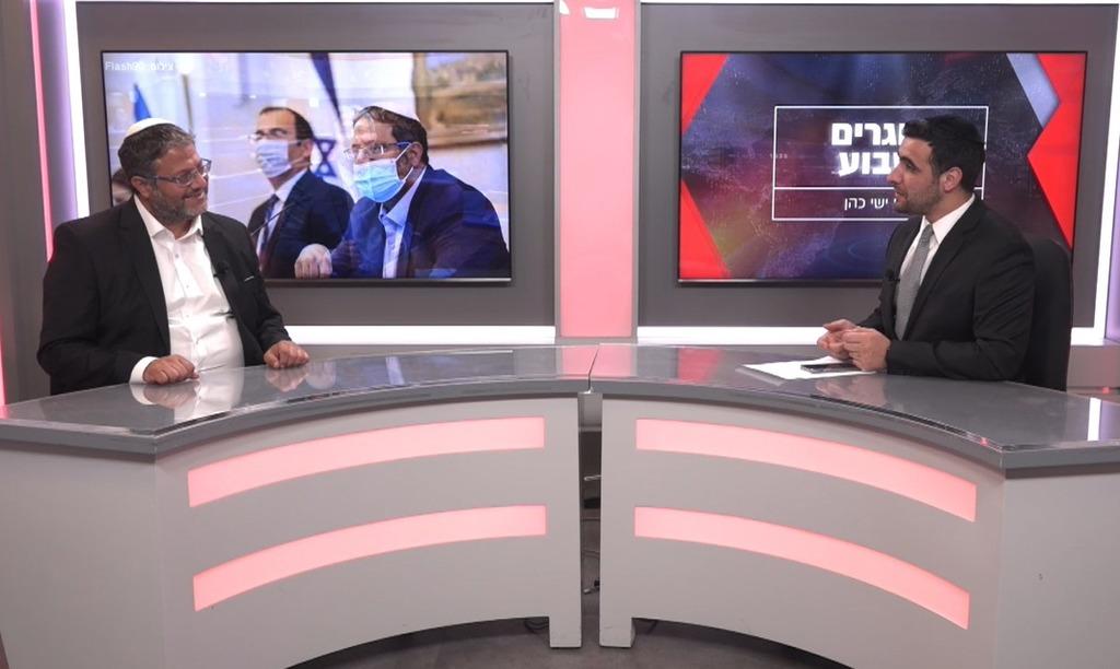 ח''כ איתמר בן גביר בריאיון לישי כהן