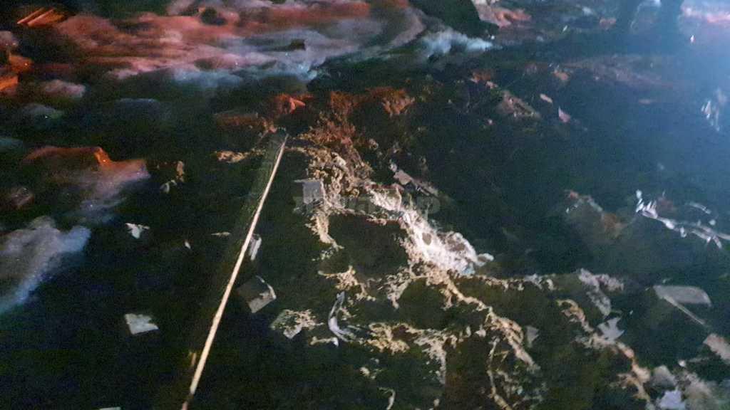 זירת הנפילה בראשון לציון (צילום: דוברות המשטרה)