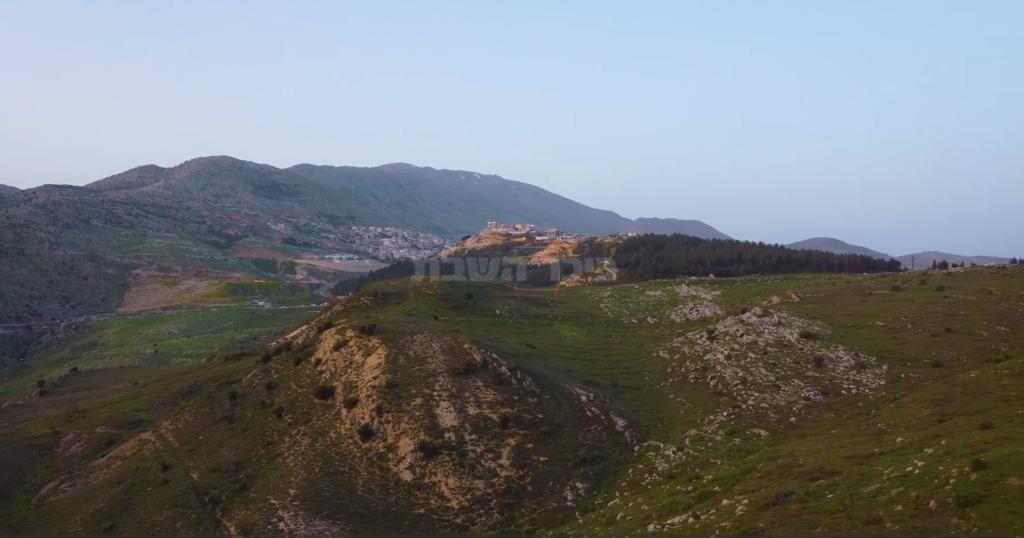 הנוף הנשקף מ'עין חרמון' (מתוך הפייסבוק של אוהד הנווד/ סברס)