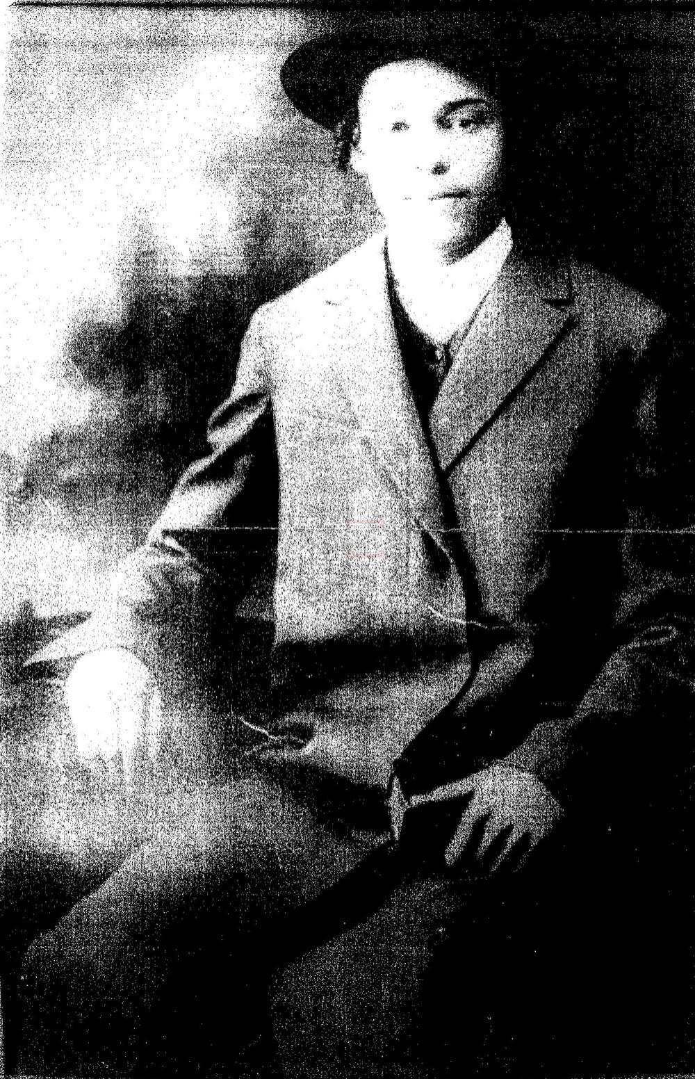 הגרי''ש אלישיב בצעירותו (ארכיון הרב ישראל גליס)