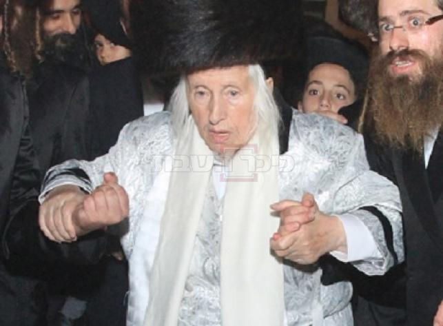 האדמו''ר מקאליב זצ''ל (צילום: Yaakov Lederman/Flash90)