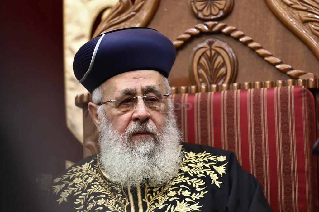 הראשון לציון הגאון רבי יצחק יוסף (צילום: יעקב כהן)