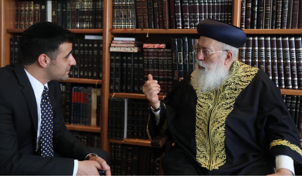 הראשל''צ הגר''ש עמאר בשיחה לישי כהן