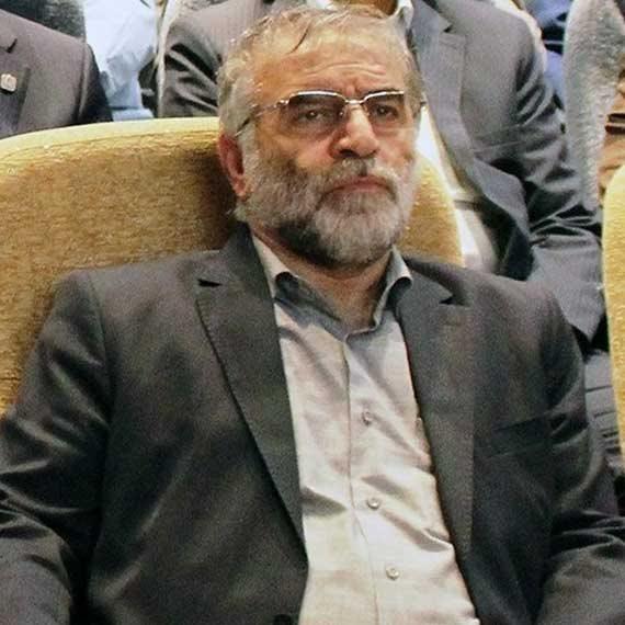 פחריזאדה (צילום איראני)