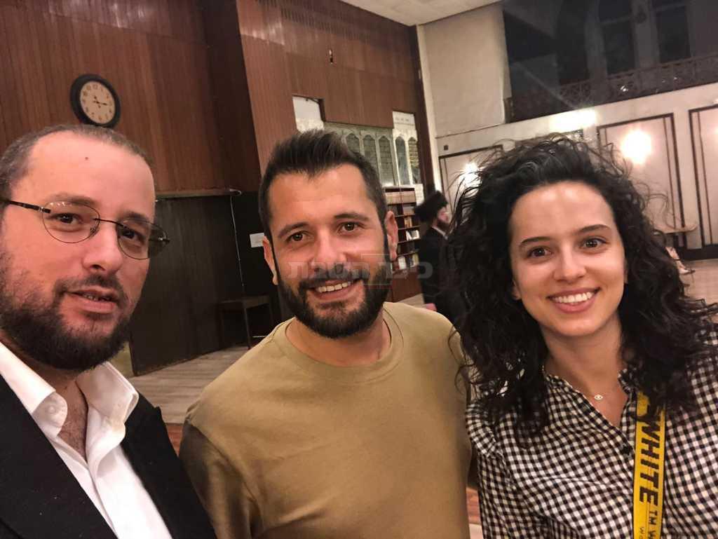 קורין גדעון, חילי סורוצקין וישראל כהן