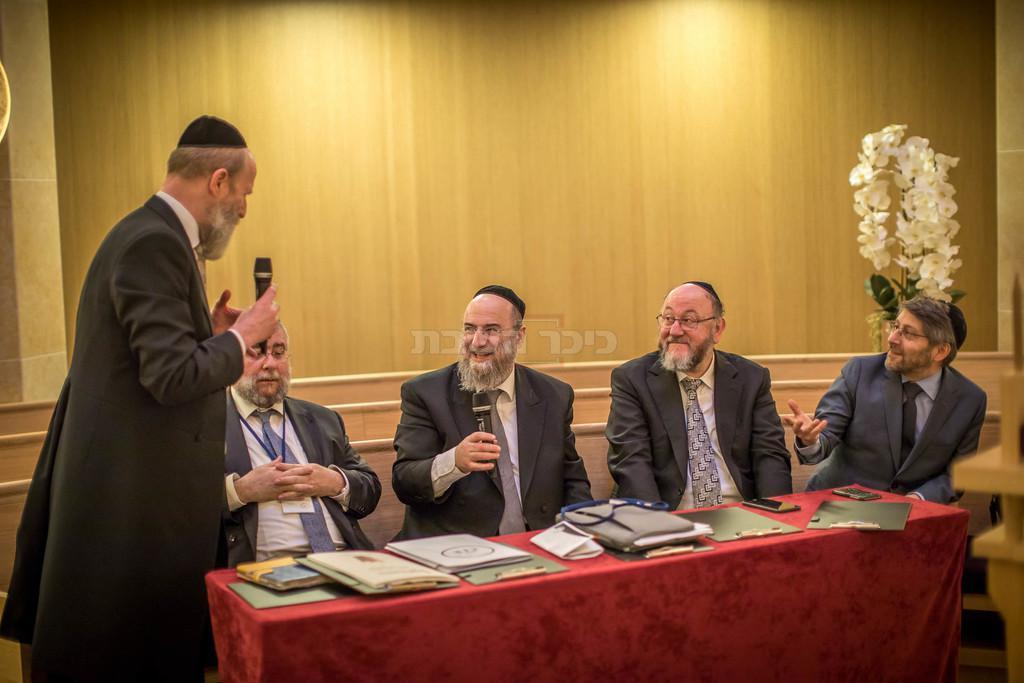 הועידה בימים אחרים (צילום: אלי איטקין)